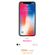 Iphone X - Abonnement VOO