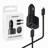 SAMSUNG Chargeur voiture Fast Charge 2 ports Noir (EP-L5300XBEGEU)
